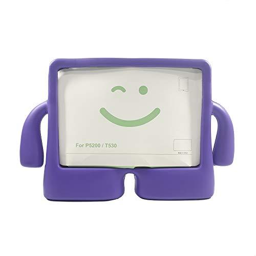 Funda Tablet Antigolpe para Samsung 10,1', P5200 / T530 para niños (Morado)