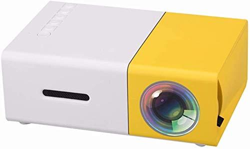, Een videoprojector, Mini draagbare projector, Video Portable Projector LCD Projector HDMI USB AV SD 400-600 Lumen Theater Kinderen Onderwijs Beamer projetor dljyy