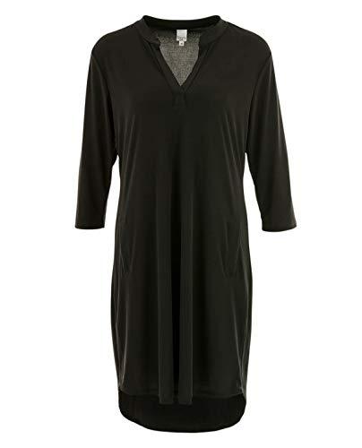 Liberty Woman Schwarzes Tunika-Kleid