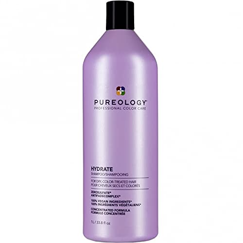 Pureology Hydrate Moisturizing Shampoo   For Medium to Thick Dry, Color Treated Hair  Sulfate-Free...