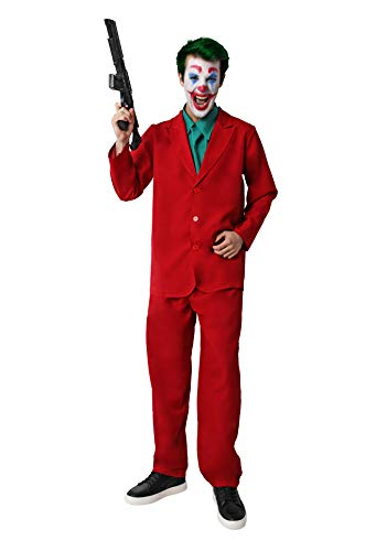 Costumizate! Disfraz de Payaso Asesino para Mujer Adulta Talla Unica Halloween
