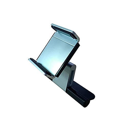 Dabeigouzzhij Accesorios Coche, Soporte de teléfono Universal Soporte de CD de CD Soporte GPS Aleación de Aluminio Soporte para teléfono móvil 360 Montaje de teléfono móvil Giratorio 3.5-5.5 Pulgadas
