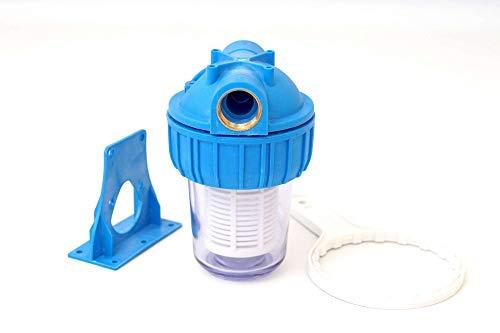 """A-CLASS 5\"""" Wasserfilter Vorfilter Schmutzfilter Pumpen Hauswasserwerke 3000 L/h 3/4\"""" Zoll"""