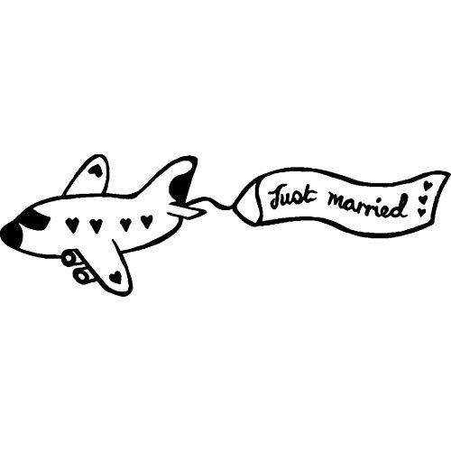 A8 'Just Married' Stempel (Unmontiert) (RS00018502)