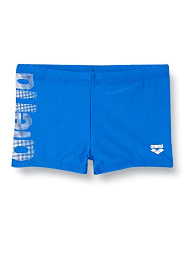 ARENA Logo Kids Boy Short Shorts, Niños, Royal, 6-7
