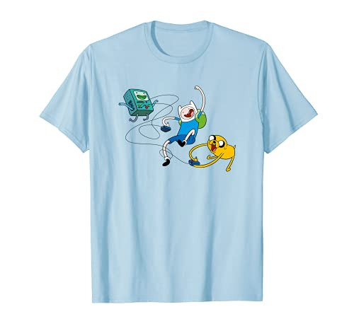 Cartoon Network Adventure Time Jake & Finn BMO T-Shirt