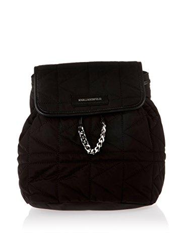 Karl Lagerfeld , Sac à main porté au dos pour femme noir noir