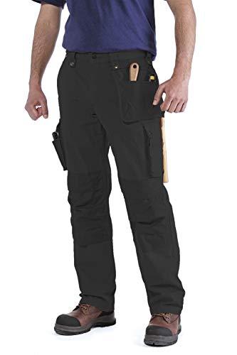 Carhartt Mens Multi Pocket Ripstop Pants, Black, W38/L28