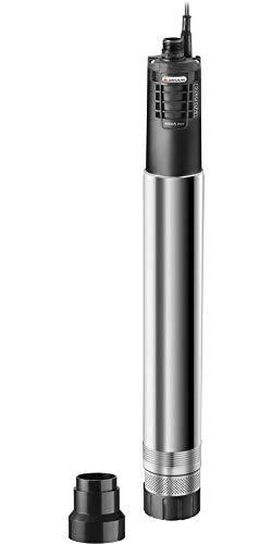 GARDENA 01499-61 Tiefbrunnenpumpe 6000/5 inox automatic, 950 W, Silber, Schwarz