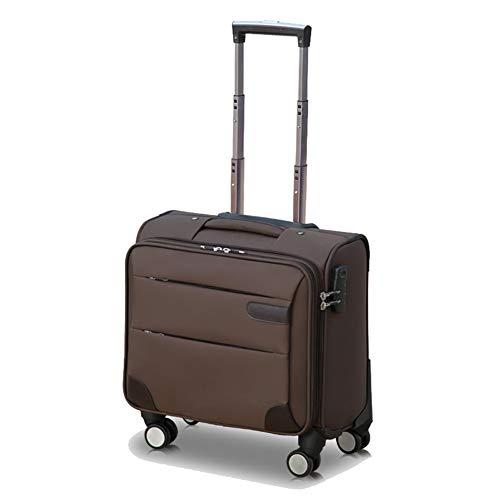 Flight Case Maleta con Portaequipajes, Maletero, Compartimento para Ordenador PortáTil, 16 Pulgadas, Ruedas De Equipaje De Negocios, Tela Oxford
