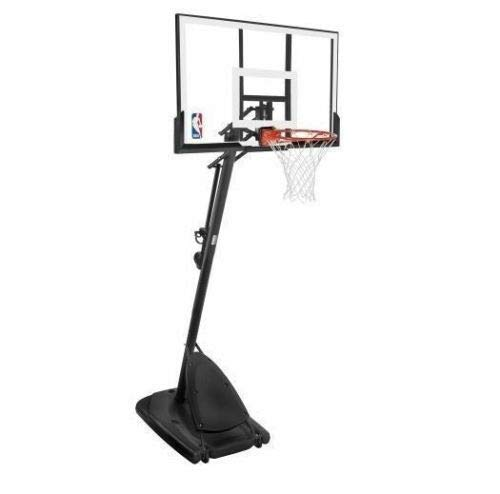 LBN Basketball Backboard Net Rim Spalding Sports Outdoor Play Ball Portable Wheels