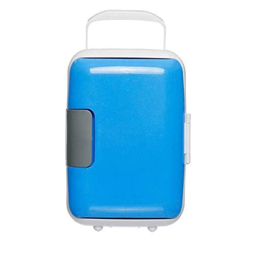 P.CHUXIN Car 4L Mini refrigerador/congelador para el hogar, incubadora portátil para un pequeño refrigerador, frío y Calor, Adecuado para Conducir, Viajar, Pescar, Uso en Exteriores y en el hogar