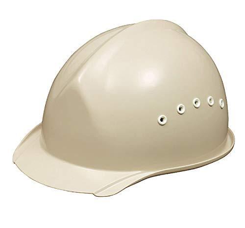 安全・サイン8 工事用ヘルメット 溝付野球帽タイプ 通気孔付 墜落時保護(スチロール入り) BH-1B カラー:サンドグレー