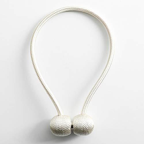 CLX gordijnhouder met magneetgesp, tweedelig elektromagnetisch gordijn, gordijn met kabelklem, gordijngesp, B, 42 cm