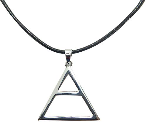 OUTLETISSIMO® COLLANA CIONDOLO TRIANGOLO TRIAD TRIADE 30 THIRTY SECOND TO MARS THIS IS WAR