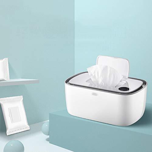 LYXCM Feuchttücher Box,Hohe Kapazität Gleichmäßiges Und Schnelles Erwärmen Der Gesamten Super Silent Perfect Wipe-Temperatur