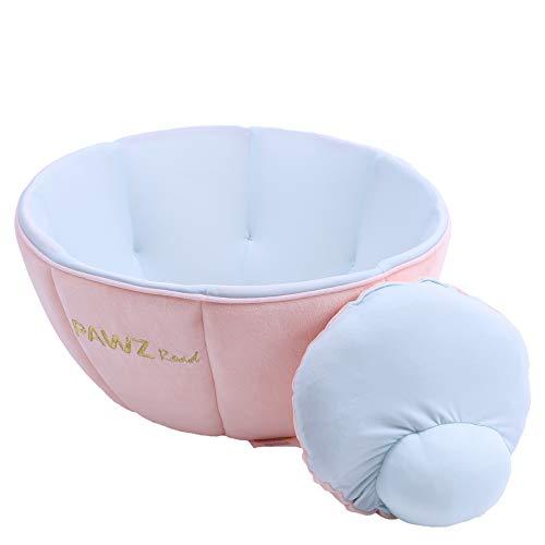 PAWZ Road 犬 猫ベッド ペットベッド 冷感涼感 涼しい ハウス 室内飼い 暑さ対策 ピンク