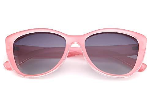 FEISEDY Gafas de sol polarizadas vintage UV400 Gafas de sol cuadradas Jackie O Cat Eye B2451