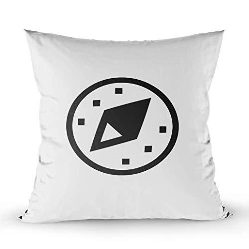 Funda de almohada para el cuerpo, fundas de almohada Fundas de almohada para el hogar Fundas de almohada para sofá Abstract Adventure America Flecha antigua Atlas Fondo Burnt Business Compass Concept