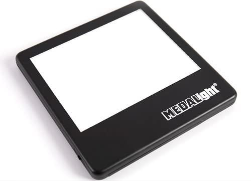 Medalight LP-100N - Panel de luz LED ultrafino (5 x 4 pulgadas)