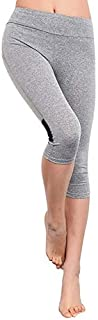 BEESCLOVER Hip Leggings Women Fitness Shorts Workout Yoga Shorts Skinny Trousers Calf-Length Shorts Joggers Yoga Women