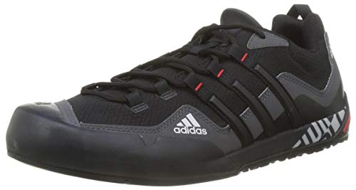 adidas Terrex Swift Solo, Zapatillas de Hiking Unisex Adulto, GRISEI/NEGBÁS/Escarl, 42 2/3 EU