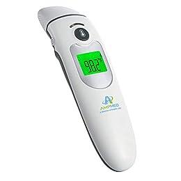 接觸/非接觸性:經臨床證明準確,專業醫院/醫療級紅外成人/嬰兒/嬰兒/幼兒/兒童溫度計。 可在額頭溫度計(輕觸或無觸式