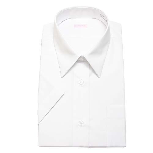 [スティングロード] 女子スクールシャツ 女子 半袖 学生用 スクールシャツ 形態安定 制服 Yシャツ カッターシャツ ブラウス MA410-AM-1 ホワイト 日本 170LL (日本サイズXL相当)