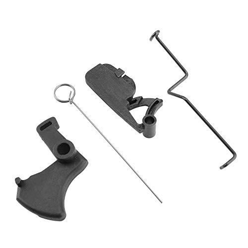 TOPINCN Kettensäge-Set Drosselstange + Hydraulischer Auslöser + Auszugsfeder + Sicherheitshebel für Stihl MS180 018 MS170 017 Kettensägen