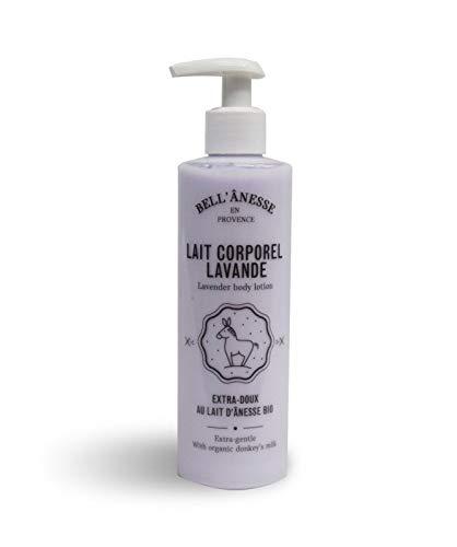 Lait Corporel Parfumé à la Lavande au Lait d'Ânesse Bio Flacon de 250ml