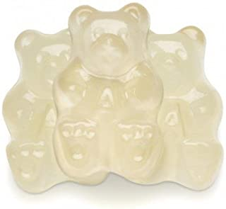 FirstChoiceCandy Albanese Gummy Bears (White Pineapple, 5 LB)