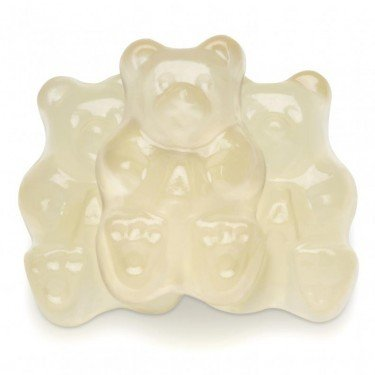 FirstChoiceCandy Albanese Gummy Bears (White Pineapple, 2 LB)