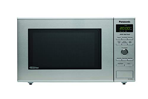 Panasonic NNSD382S Compact 0.8 cft. 950W Inverter Technology Microwave Oven, Stainless Steel