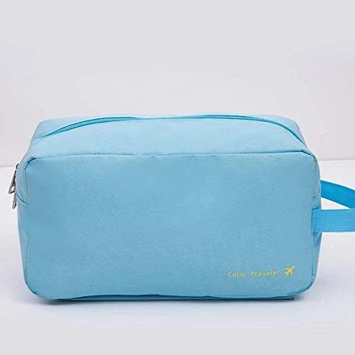 Gather together Light Blue Swimming Bag Dry Wet Separation Handbag Tote with Shoes Pocket Beach Swimsuit Storage Sports Bags Gym Pouch Men
