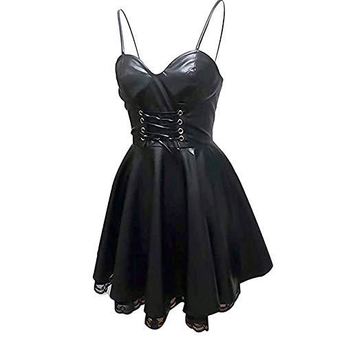 Anime Misa Amane Cosplay Costume Women Dress with Goves Stockings Black