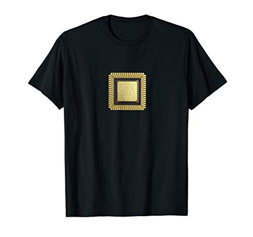 T-Shirt mit Bild Mikroprozessor