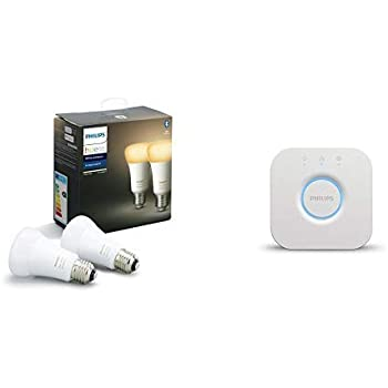 Philips Hue White Ambiance Pack 2 bombillas LED inteligentes E27 ...