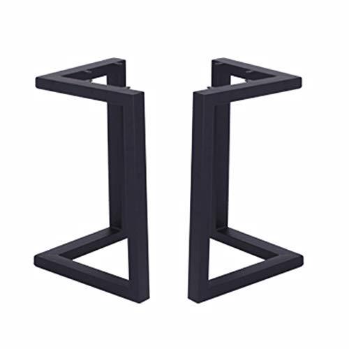 ZXLL Patas de Metal para Muebles/Patas de Mesa de Hierro/Acero, Patas de Mesa de Comedor en Forma de V, Patas de Mesa Ajustables de 72 cm, adecuadas para escritorios de computadora, mesas de café (2)