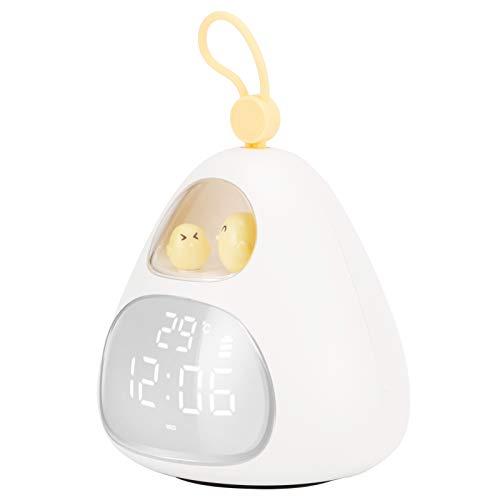 Emoshayoga Reloj Inteligente Seguro multifunción Reloj Digital APLICACIÓN portátil Reloj Despertador Hogar de Estudiantes para el hogar
