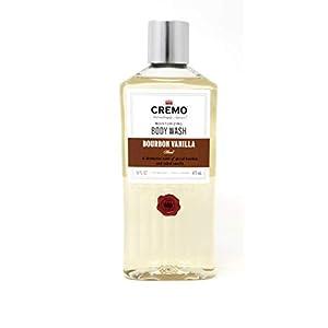 CREMO Moisturizing Body Wash - Bourbon Vanilla Blend 16 FL OZ 9