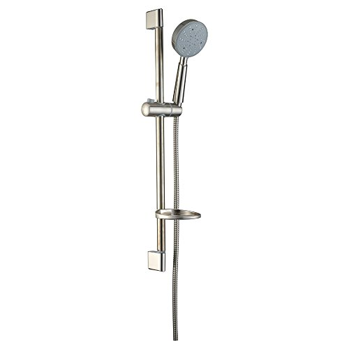 Dawn R28060402 Multifunction Handshower with Slide Bar, Brushed Nickel