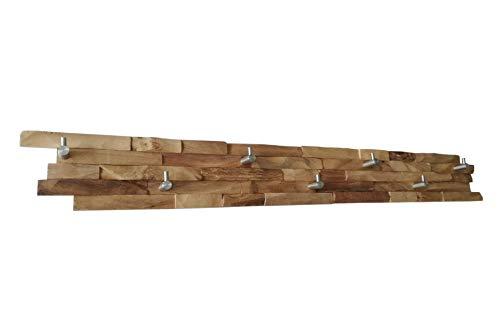 Wandgarderobe recyceltes Holz Massivholz Treibholz 3D Manufaktur ICEBORN (Beach groß)
