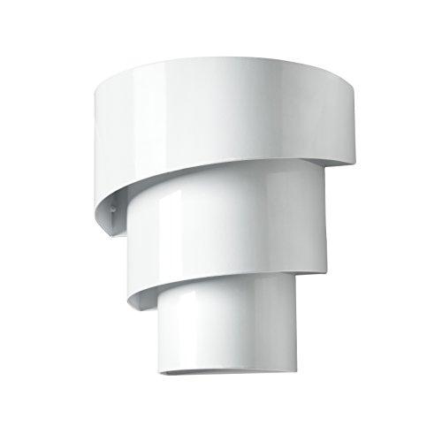 Galix G10 Applique Murale Solaire Moderne Très Eclairante, Métal, Blanc