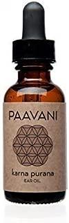PAAVANI Ayurveda Ayurvedic Ear Oil 1 fl oz - Herbal Ear Drops - Certified Organic