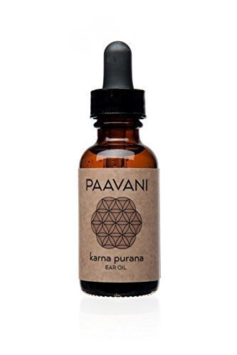 PAAVANI Ayurveda Ear Oil - Made in USA - Ayurvedic Herbal Ear Drops - Itchy Ears & Earache Relief -...