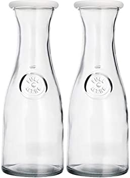 wine carafe with lid