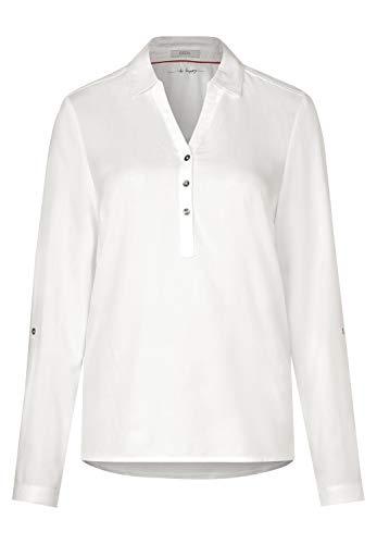 Cecil Damen 341779 Bluse, Weiß (Pure Off White 10125), X-Large (Herstellergröße: XL)