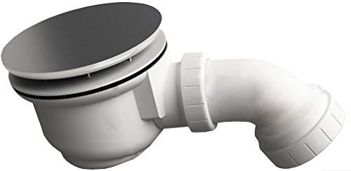 Afvoergarnituur voor douchebakken met 90 mm afvoergat