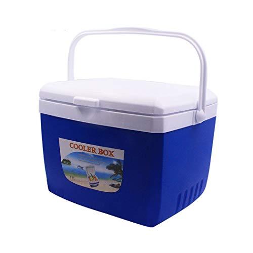 AXIANQI Plastic Isolatie Box Vriezer Thuis Auto Outdoor Koelkast Afhaalbare Draagbare Koude Opslag Vissen Grote Ijsemmer Isolatie Tank Niet-Koelmiddel, Moet Samen worden gebruikt met Ijsblokjes a 35L