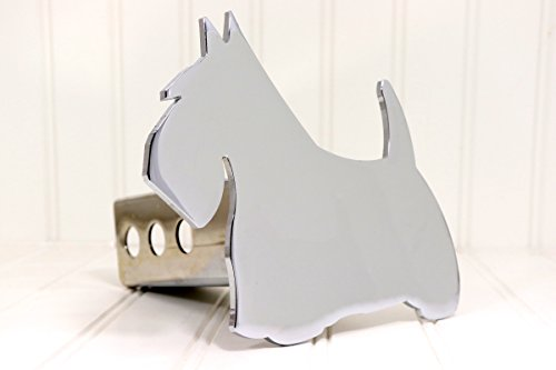 Custom Hitch Covers 12048-Chrome Scottie Dog Hitch Cover